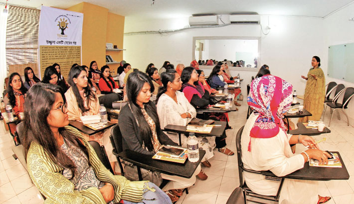 Ujjwala Conducts Grooming Session  For Avery Dennison Bangladesh