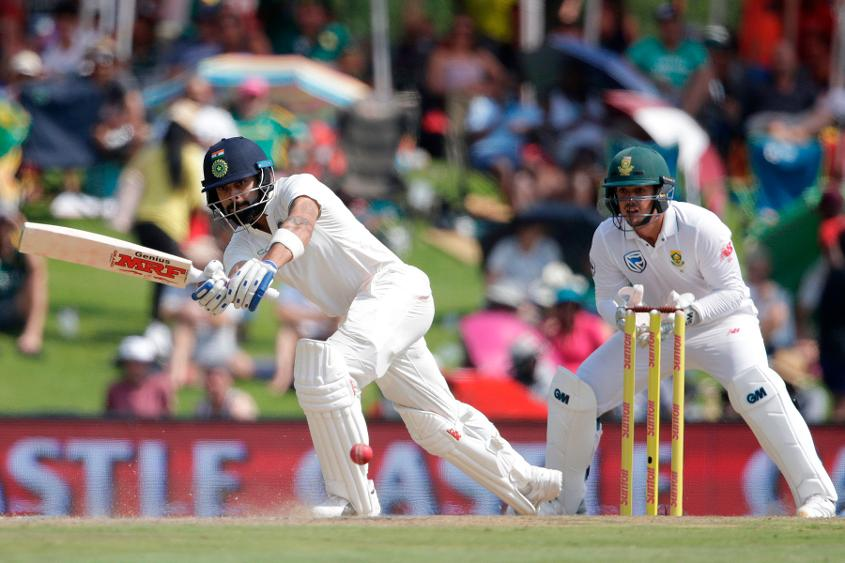 Kohli stands firm for India in 2nd Test
