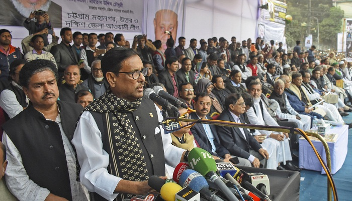 Quader talks tough against party rebellion