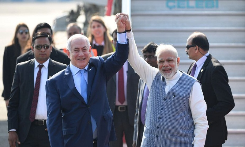 PM Modi, Netanyahu to hold delegation levels talk today