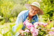 Gardening can make old people stay more healthy