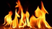 City building fire doused