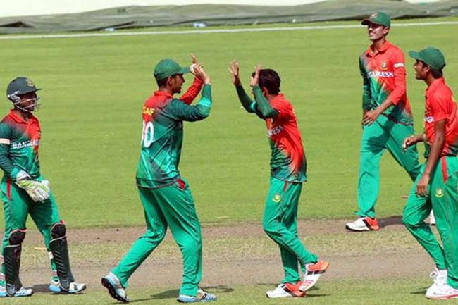 Afif secures Bangladesh's second win in ICC U-19 WC