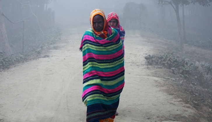Cold wave slightly loosens its grip