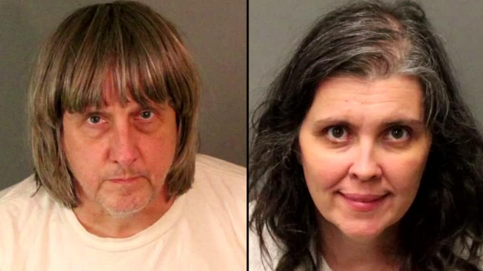 13 siblings found shackled, malnourished in California home