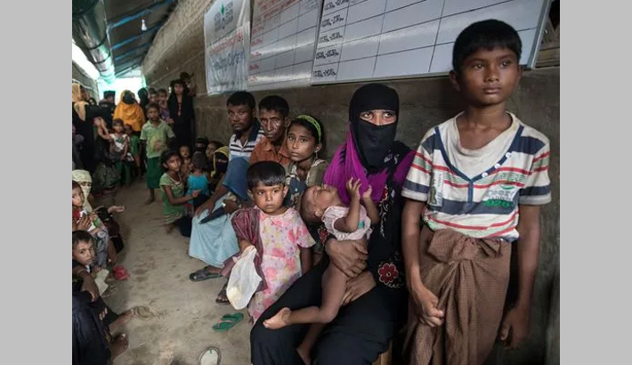 Monsoon may pose a great risk for Rohingya kids