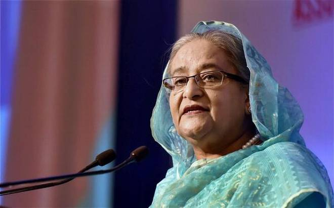 PM urges developed countries to stand beside Bangladesh