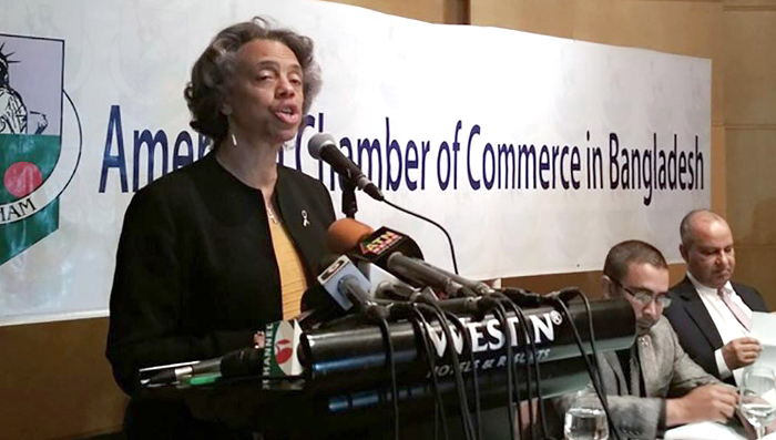 Bangladesh-USA bilateral trade almost doubled in 10 yrs: Bernicat