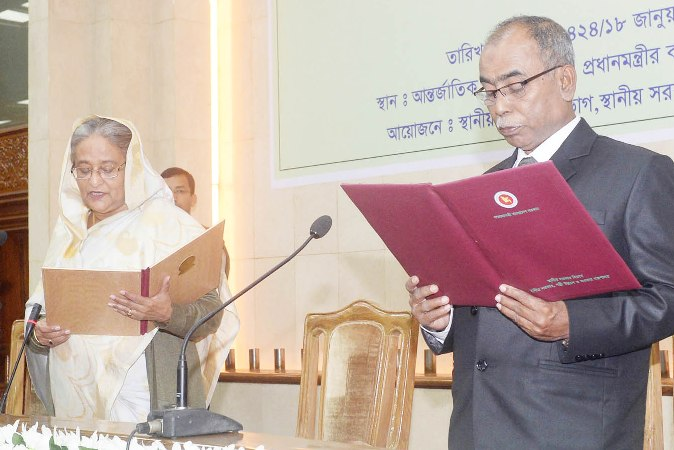 Mostafizar sworn in as Rangpur City mayor