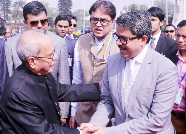 Ex-Indian president Pranab Mukherjee leaves Dhaka after five-day visit