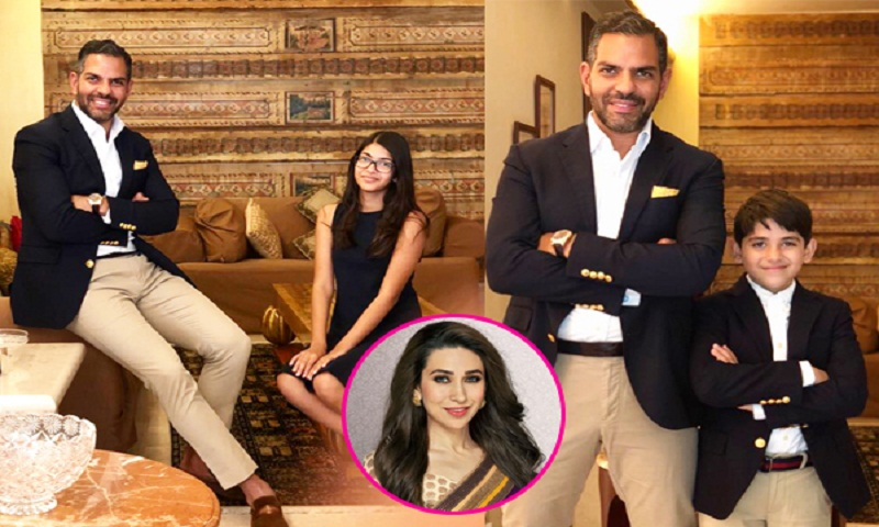 Karisma Kapoor's kids spend time with father Sanjay Kapur