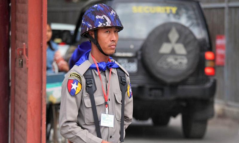 Nine killed, 12 injured in Myanmar police firing