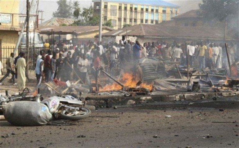 At least 12 killed in suicide bomb attacks in Nigeria