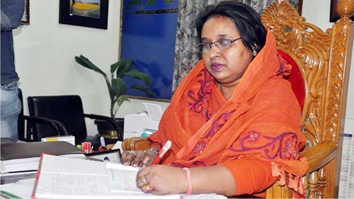 NCC mayor Ivy hospitalized in Dhaka