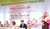 Inaugural ceremony of Bangladesh Development Forum-2018