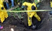 Dozens of bodies found buried in field in Mexico