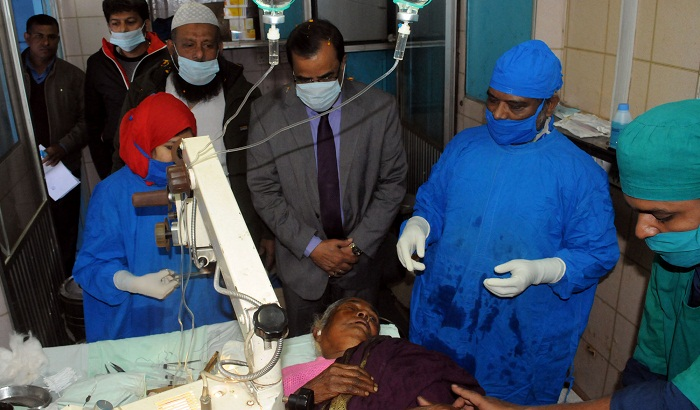 Ad-Din to conduct 10,000 free cataract operations a year