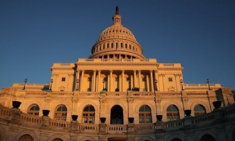 US government shutdown: House backs funding bill and sends it to Senate