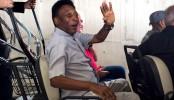 Hospitalised Pele cancels London trip
