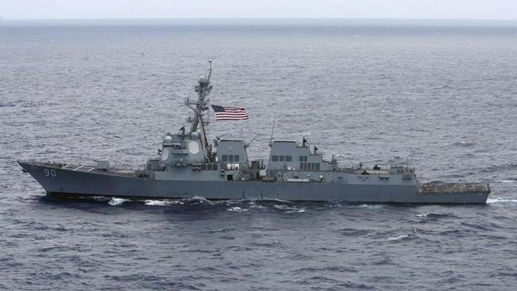 China says US warship 'violated' its sovereignty