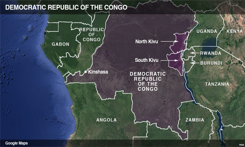 At least a dozen soldiers killed in Eastern Congo
