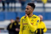 Dortmund drops Aubameyang again for Hertha Berlin game