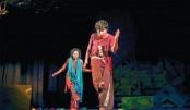 Tragedy Palashbari staged at Shilpakala Academy