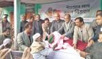 EWMGL distributes blankets among cold-hit people