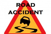Road accident kills woman in city