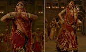 Padmaavat: Deepika Padukone's midriff covered as makers reveal Ghoomar 2.0