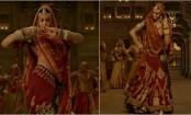 Padmaavat: Deepika Padukone's midriff covered as makers reveal Ghoomar 2.0