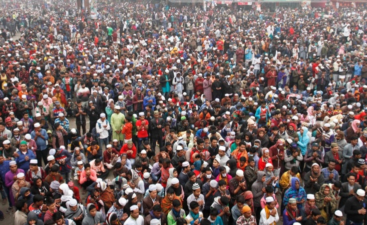 Biswa Ijtema ends seeking peace, well-being of Muslims