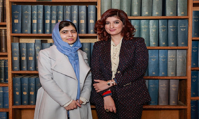 Twinkle Khanna meets Malala Yousafzai at Oxford University, highlights period poverty