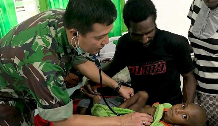 100 feared dead from malnutrition, measles in Indonesian Papua