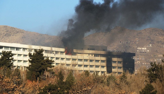 Afghan hotel attack killed 14 foreigners
