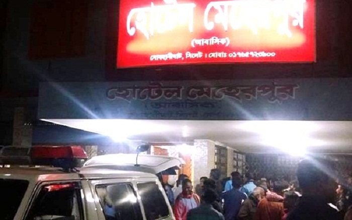 2 bodies recovered from Sylhet hotel room