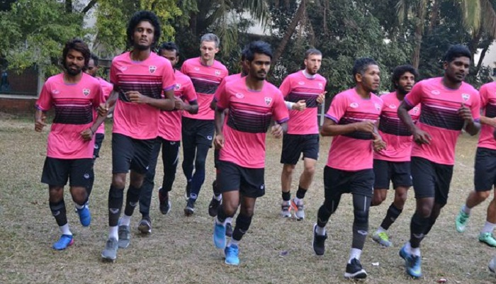 Maldivian TC Sports Club arrive Dhaka to play AFC Cup