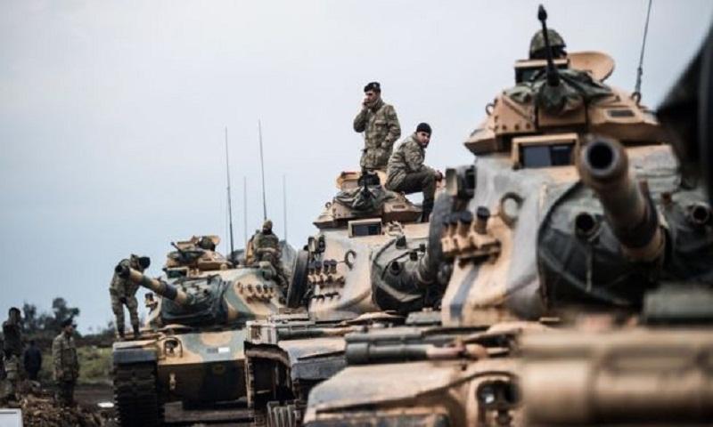 Syria offensive: Turkey warns US over Kurdish militia group