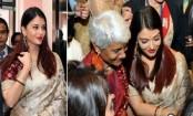 Aishwarya Rai Bachchan honoured by president of India Ram Nath Kovind in Delhi
