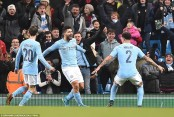 Manchester City subdues Bristol City to reach League Cup final