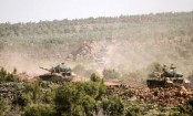 Syria war: Row over Turkey using German-made tanks