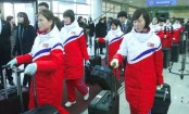 N Korean hockey players arrive in the South for joint team