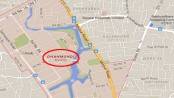 Woman runs over by muggers' car in Dhanmondi