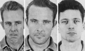 Alcatraz escape: Fugitive John Anglin's name on letter to police