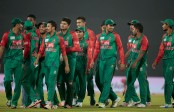 Bangladesh need 222 runs to win maiden trophy