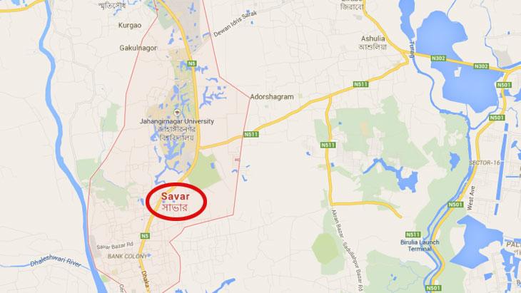 2 siblings burnt alive in Savar fire