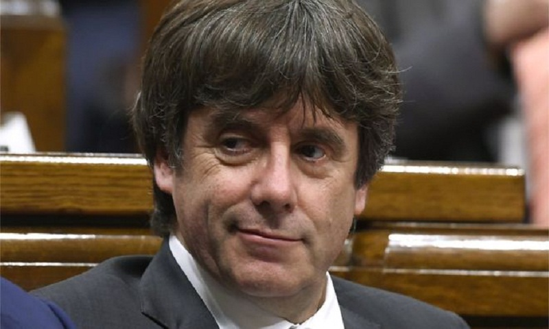 Catalonia's Puigdemont cannot lead from abroad, court rules