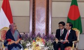 PM holds talks with Indonesian president