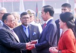 Indonesian President Widodo leaves Dhaka