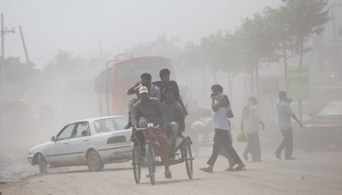 Dhaka most air polluted city